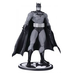 Batman Black & White Action Figure Hush Batman by Jim Lee 17 cm
