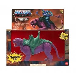 Masters of the Universe Origins Action Figure 2021 Panthor Flocked Collectors Edition Exclusive 14cm