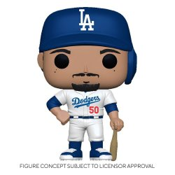 MLB POP! Sports Vinyl Figure Dodgers - Mookie Betts (Home Uniform) 9 cm