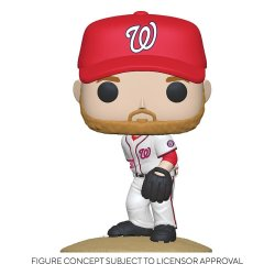 MLB POP! Sports Vinyl Figure Nationals - Stephen Strasburg (Home Uniform) 9 cm