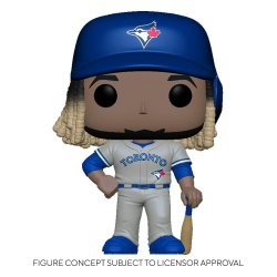 MLB POP! Sports Vinyl Figure Blue Jays - Vladimir Guerrero Jr. (Road Uniform) 9 cm