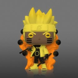 Naruto POP! Animation Vinyl Figure Specialty Series Naruto Six Path Sage (Glow) 9 cm