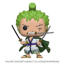 One Piece POP! Television Vinyl Figure Roronoa Zoro 9 cm
