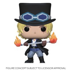 One Piece POP! Television Vinyl Figure Sabo 9 cm