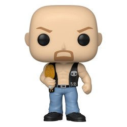 WWE POP! Vinyl Figure SC Steve Austin w/Belt 9 cm