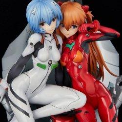 Neon Genesis Evangelion PVC Statue Rei & Asuka Twinmore Object 23 cm