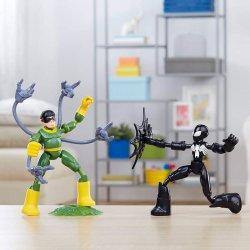 Spiderman Marvel vs Doc Ock Bend and Flex 2 figures 15cm