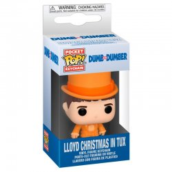 Pocket POP! keychain Dumb and Dumber Lloyd In Tux