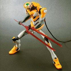HG Evangelion EVA-00 New Movie Collection Mechanic Model Kit 31cm figure