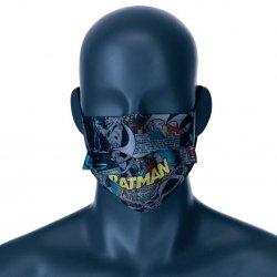 DC Comics Batman Comic reusable face mask kids