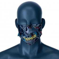 DC Comics Batman reusable face mask tween