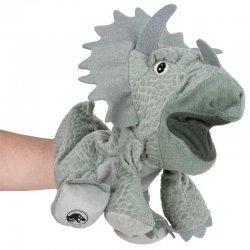 Jurassic World Triceratops hand puppet plush toy 25cm