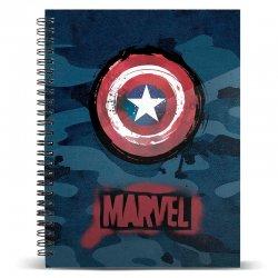 Marvel Captain America A4 notebook