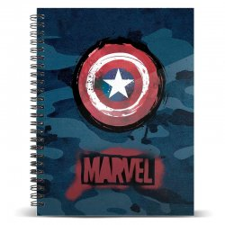 Marvel Captain America A5 notebook