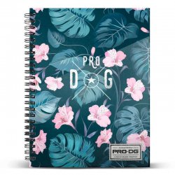 Pro DG Tropic Blue A4 notebook