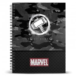 Marvel Thor Hammer A4 notebook