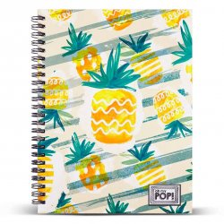 Oh My Pop Ananas A5 notebook