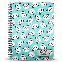 Oh My Pop Pandicorn A5 notebook