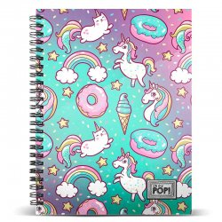 Oh My Pop Dream A4 notebook