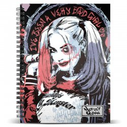 DC Comics Harley Quinn A4 notebook