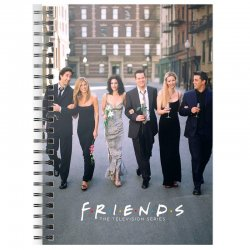 Friends City A5 notebook