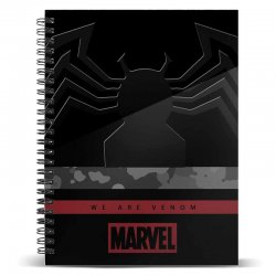 Venom Marvel Monster A5 notebook