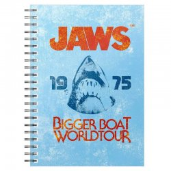 Jaws Bigger Boat 1975 A5 notebook