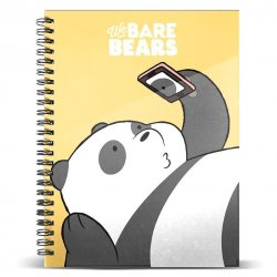 We Bare Bears Panda Bear A4 notebook