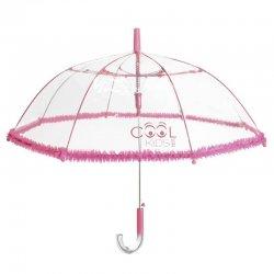 Fuchsia dome POE automatic umbrella 45cm