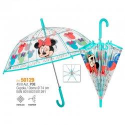 Disney Minnie transparent umbrella automatic 45cm