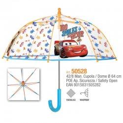 Disney Cars transparent umbrella 42cm Manual