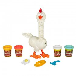 Play-Doh Funny Animal Crew Chicken Feathers