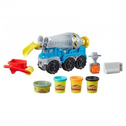 Play-Doh Cement Truck Wheels
