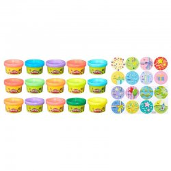 Play-Doh Party Bag Set 15 cans