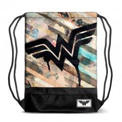 DC Comics Wonder Woman Collage gym bag 48cm