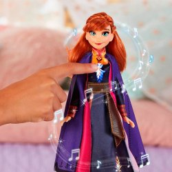 Disney Frozen Anna 2 Spanish singsong 30cm doll