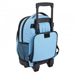 Blackfit8 Blue compact trolley 45cm