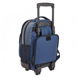 Blackfit8 Navy Blue compact trolley 45cm