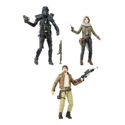 Star Wars Rogue One Black Series 3-Pack Rebels vs. Imperials 2016 Exclusive 15 cm