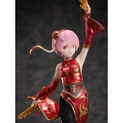 Re:ZERO - Starting Life in Another World PVC Statue 1/7 Ram China Dress Ver. 23 cm