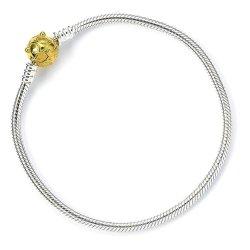 Harry Potter Slider Bracelet Golden Snitch 19 cm (Sterling Silver)