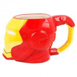 Head Marvel Iron Man 3D mug