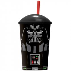 Star Wars tumbler with straw