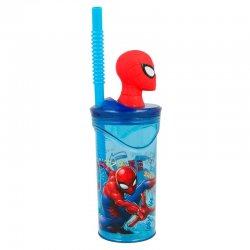 Marvel Spiderman 3D figurine Graffiti Tumbler