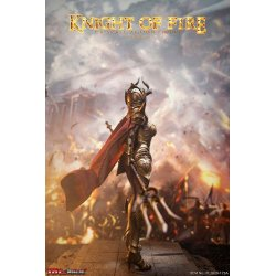 Knight of Fire Action Figure 1/6 Golden Edition 30 cm