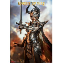 Knight of Fire Action Figure 1/6 Silver Edition 30 cm