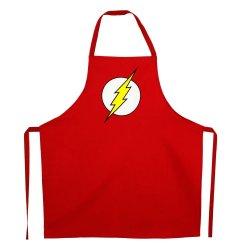 DC Comics cooking apron Flash