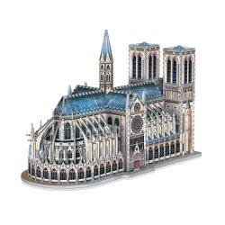 Wrebbit Castles & Cathedrals Collection 3D Puzzle Notre-Dame de Paris (830 pieces)