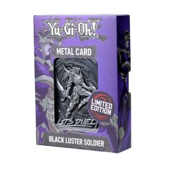 Yu-Gi-Oh! Replica Card Black Luster Soldier Limited Edition