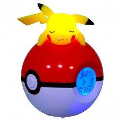 Pikachu Pokemon Pokeball lamp alarm clock